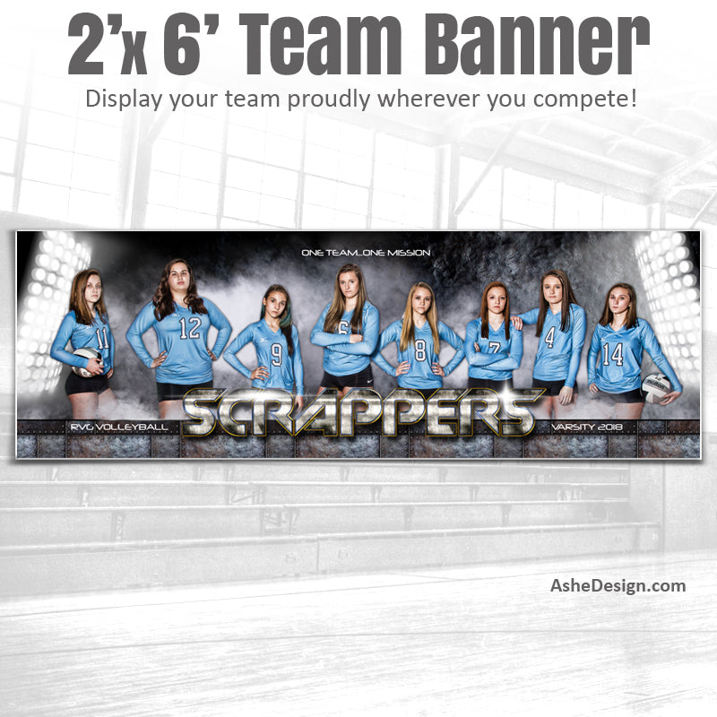 2x6 Amped Sports Banner - Armor