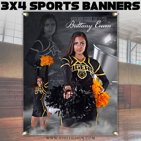 3x4 Amped Sports Banner - Dream Weaver Cheer