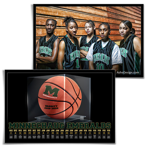Team Game Schedule - Display Case Basketball