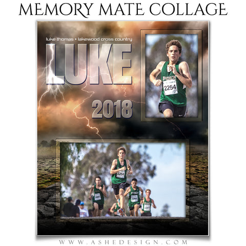 Sports Memory Mates - Breaking Ground Cross Country
