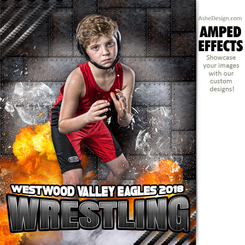 Amped Effects - Molten Wrestling