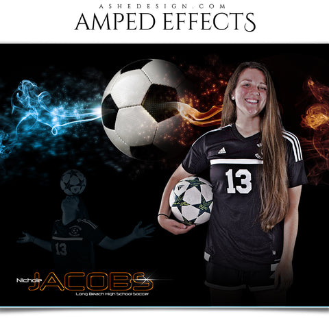 Ashe Design 16x20 Amped Effects - Deadlock Soccer