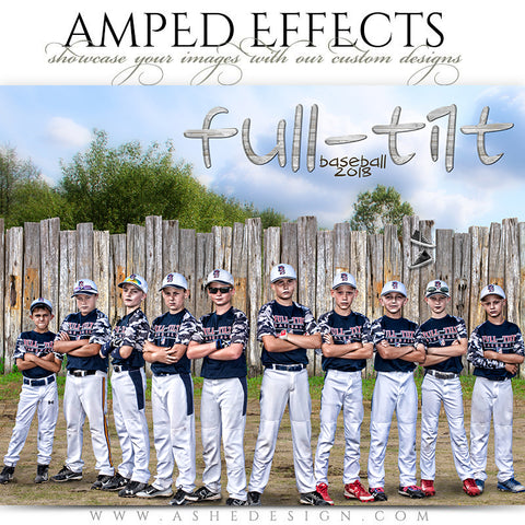 Ashe Design Sandlot Baseball Team Poster