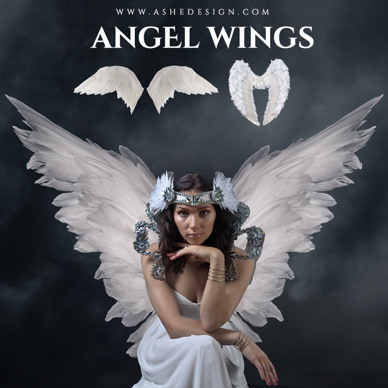Ashe Design Angel Wings Overlays