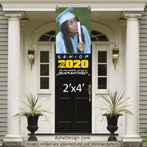 2x4 Graduation Banner - Friends Graduation