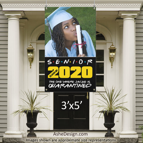 3x5 Graduation Banner - Friends Graduation