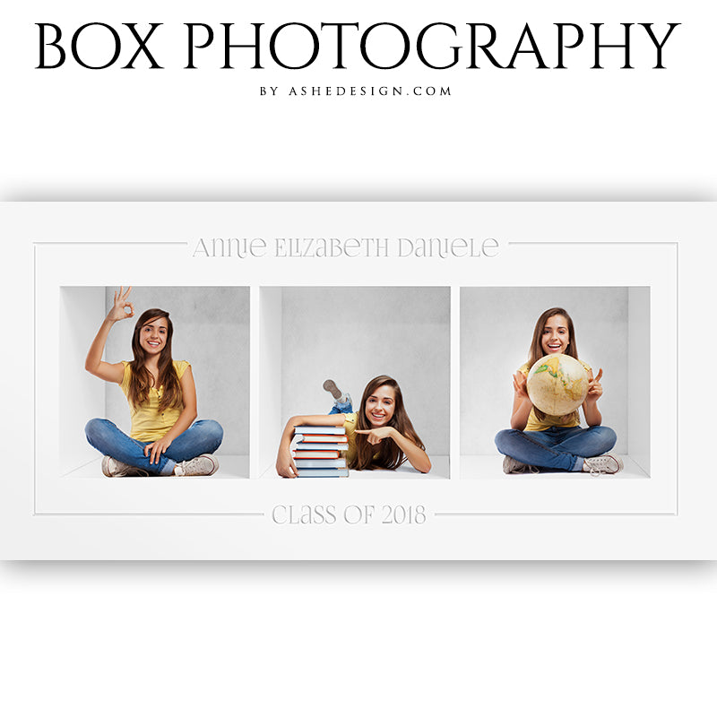 Box Session Photography - Basic 3 Collage