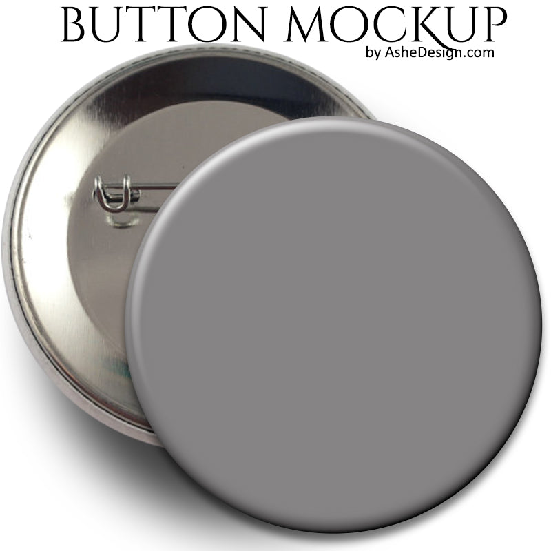 Ashe Design Sports Button Mockup