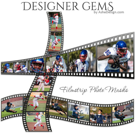 Designer Gems - Filmstrip Photo Masks