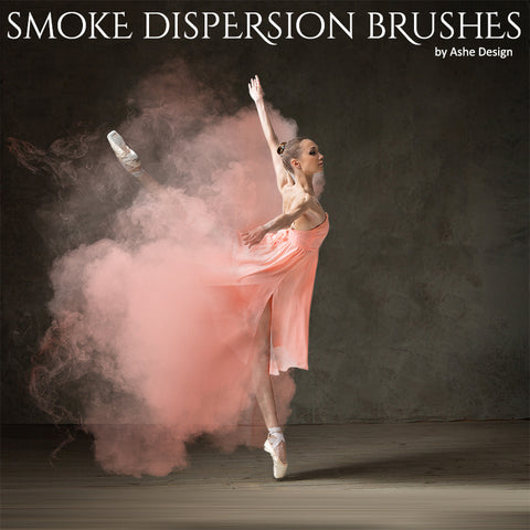 Designer Gems - Photoshop Brush Set - Dispersion Smoke