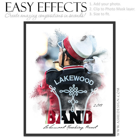 Easy Effects - Powder Explosion Marching Band