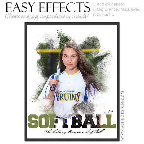 Easy Effects - Powder Explosion Softball