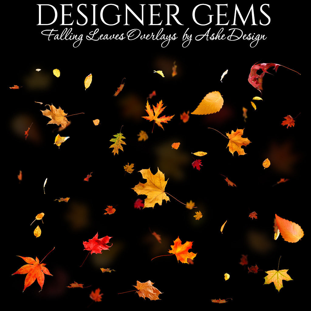 Designer Gems - Falling Leaves
