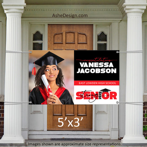 5x3 Graduation Banner - 2020 Senior Strong Wide