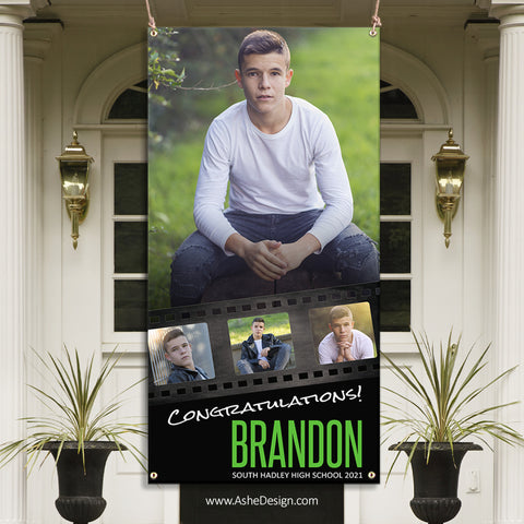 3x6 Graduation Banner - On Film