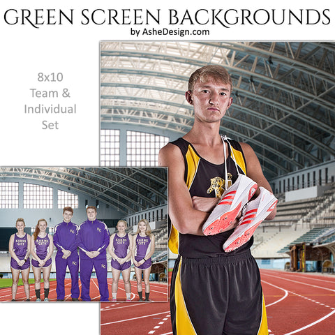 Green Screen Backgrounds - Track