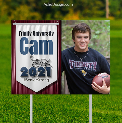 Lawn Sign 18x24 - Banner Year 2021