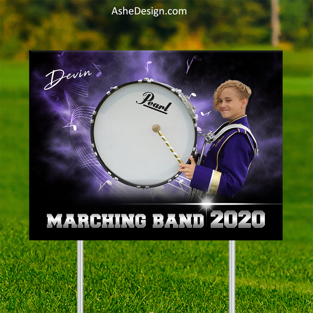 Lawn Sign 18x24 - Electric Explosion Band