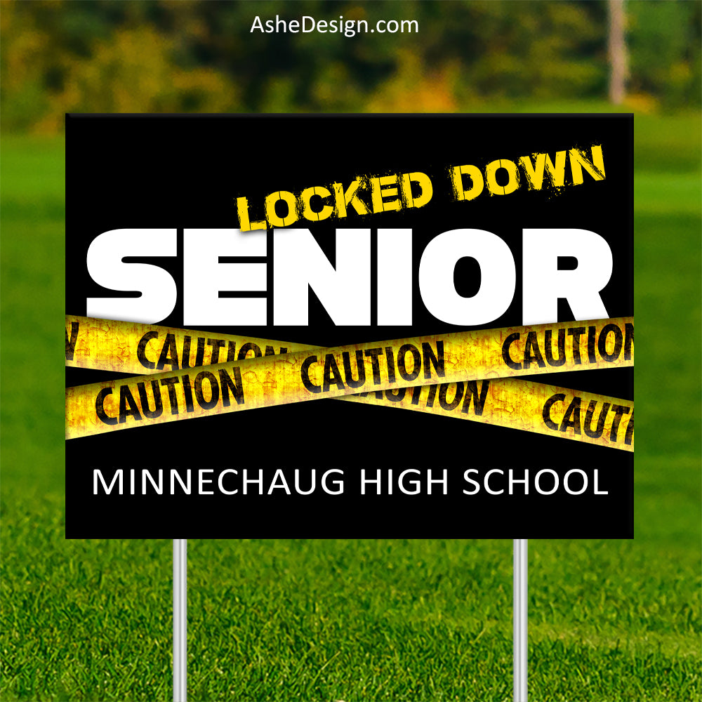 Lawn Sign 18x24 - Lockdown