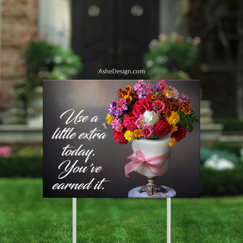 Lawn Sign 18x24 - Lawn Bouquets - Toilet Paper Multi