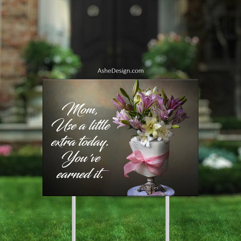 Lawn Sign 18x24 - Lawn Bouquets - Toilet Paper
