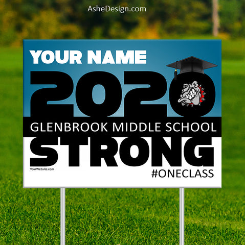 Lawn Sign 18x24 - 2020 Strong