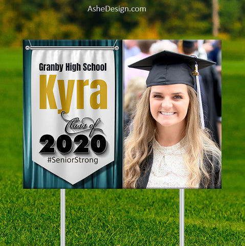 Lawn Sign 18x24 - Banner Year 2020
