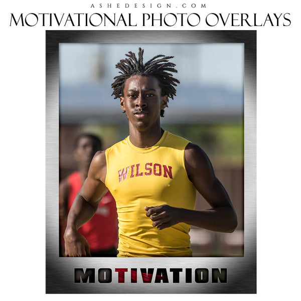 Designer Gems - 16x20 Motivational Sports Photo Overlays