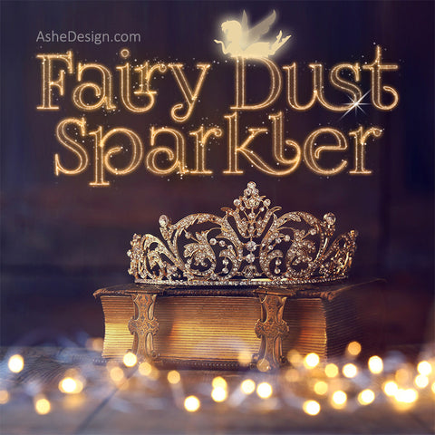 Photoshop Action - Fairy Dust Sparkler