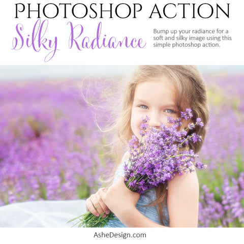 Photoshop Action - Silky Radiance
