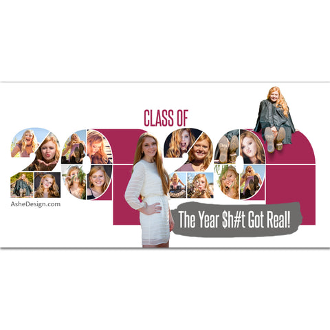 Easy Effects - Class of 2020 Toilet Paper 10x20