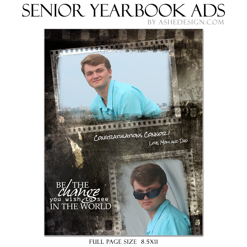 Yearbook Ad Designs - Film Strip 2018