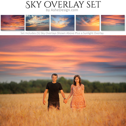 Designer Gems - Overlays - Sunset Skies