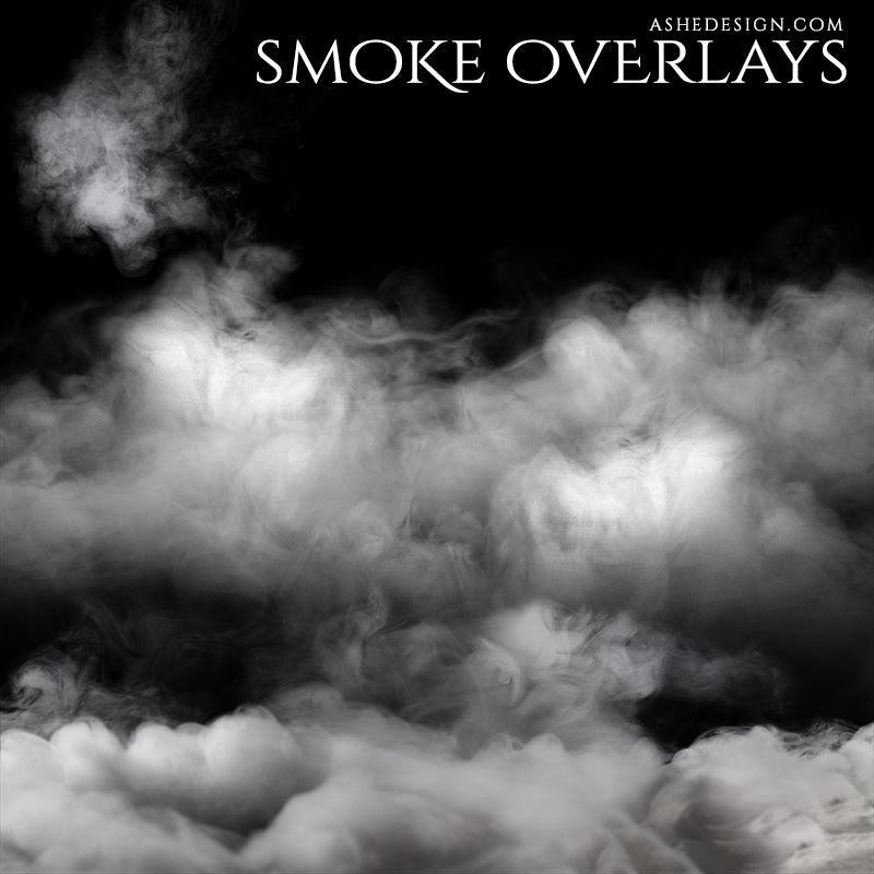 Designer Gems - Smoke Overlays