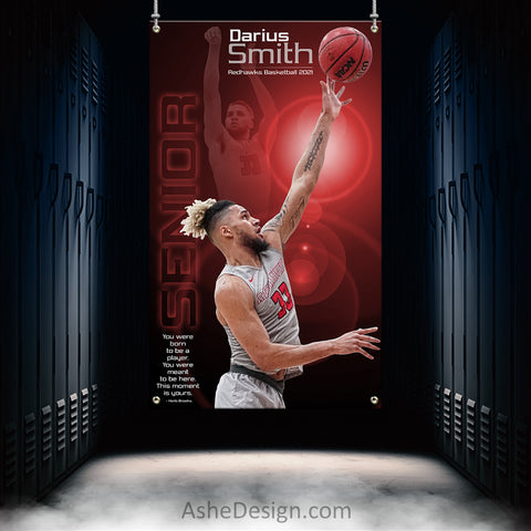3x5 Amped Sports Banner - This Moment Is Yours