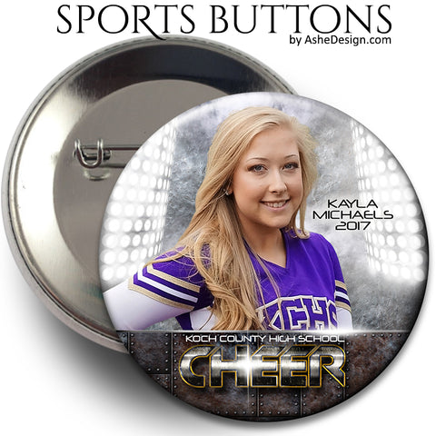 Sports Button - Armor