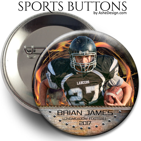 Sports Button - Ring of Fire