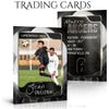 Ashe Design Sports Trading Cards - Honeycomb Soccer