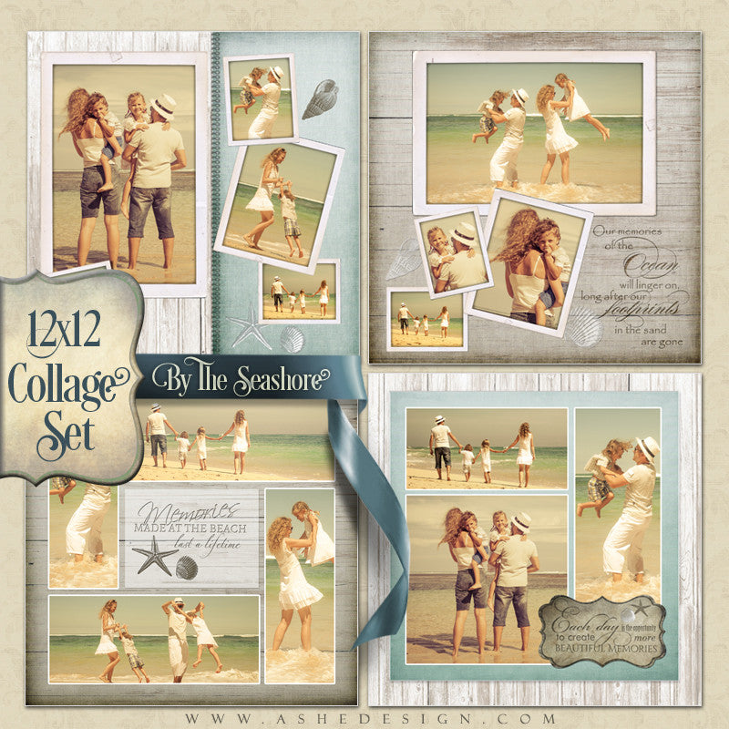 Ashe Design 12x12 Collage Set - By The Seashore