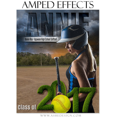 Amped Effects - Stormy Lights Sofball 2017 Seniors