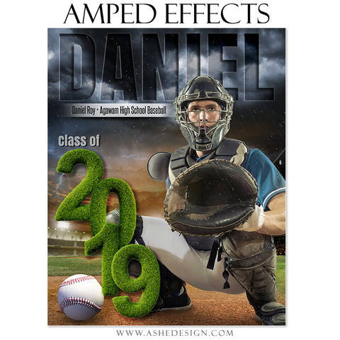 Amped Effects - Stormy Lights Baseball 2019 Seniors