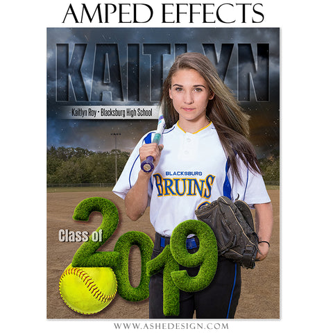 Amped Effects - Stormy Lights Softball 2019 Seniors