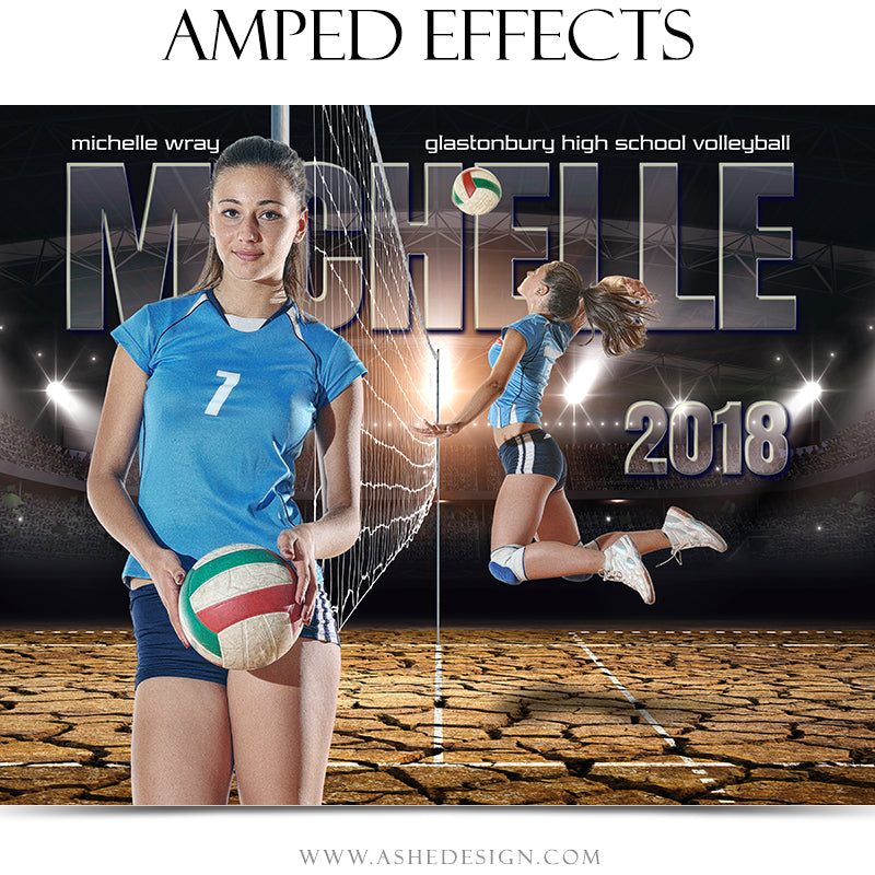 Amped Effects - Breaking Ground - Volleyball