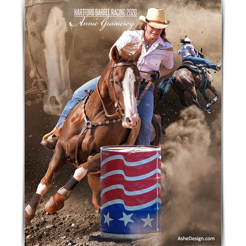 Amped Effects - Dream Weaver Barrel Racing