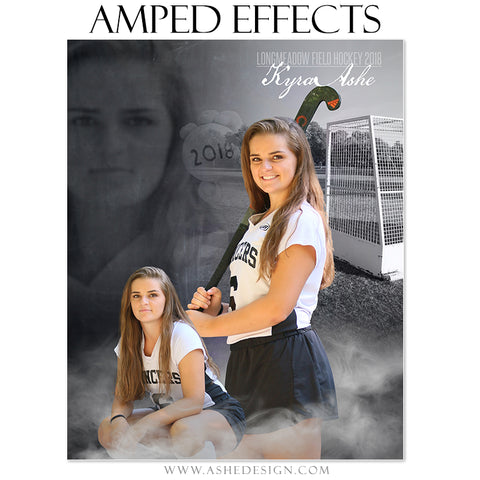 Ashe Design 16x20 Amped Effects Poster - Dreamweaver - Field Hockey