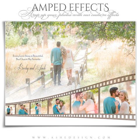 Amped Effects - Faded Filmstrip