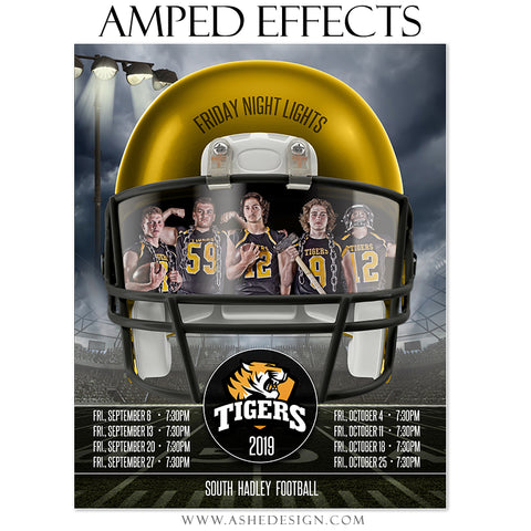 Amped Effects - Football Helmet Game Schedule