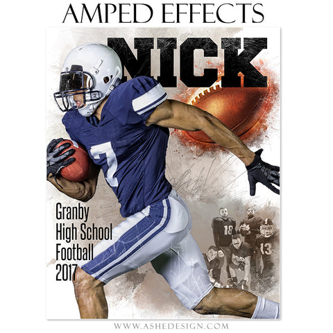 Amped Effects - In The Zone - Football