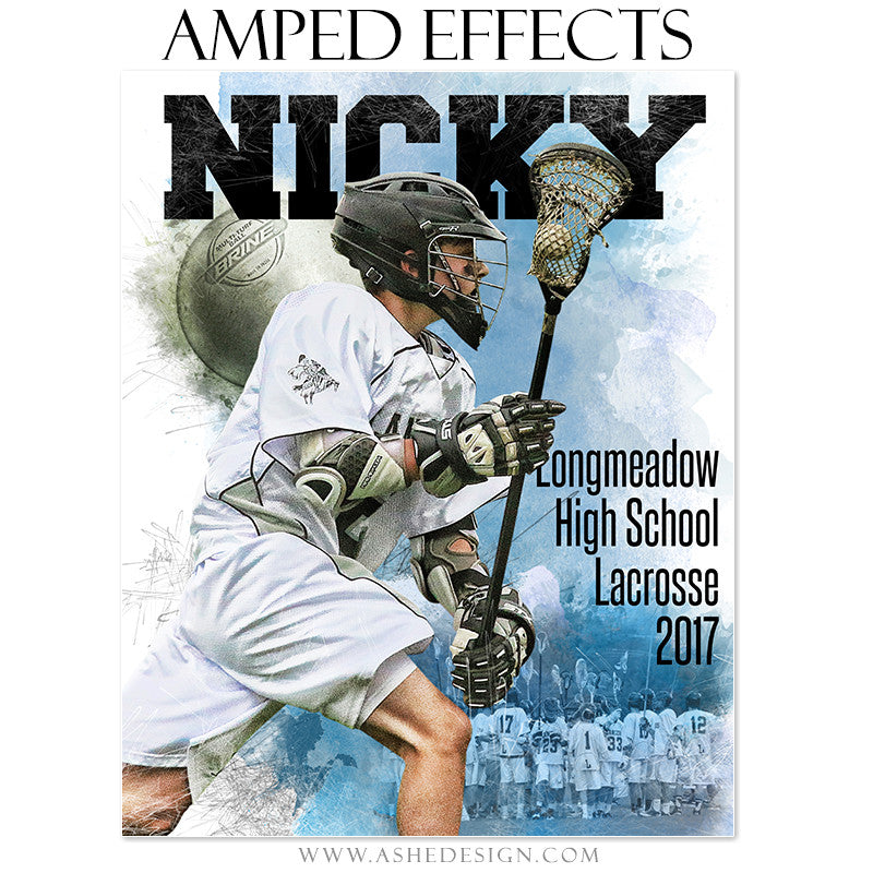 Amped Effects - In The Zone - Lacrosse