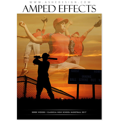 Amped Effects - Silhouette Sports - Baseball